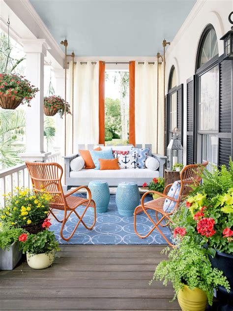 Porch Design And Decorating Ideas  Outdoor Spaces Patio