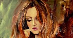 Original Abstract ART Acrylic Figure Painting Woman ...
