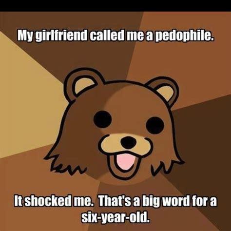 Pedo Bear Memes - pedobear big words pinteres