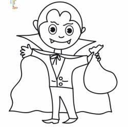 Dessin Halloween Vampire : coloriages imprimer dessins imprimer pour enfants t te modeler ~ Carolinahurricanesstore.com Idées de Décoration
