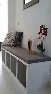 Sitzbank Mit Aufbewahrung Ikea : jeder kennt wohl die kallax schr nke von ikea nachstehend 12 fantastische ideen zum ~ Markanthonyermac.com Haus und Dekorationen