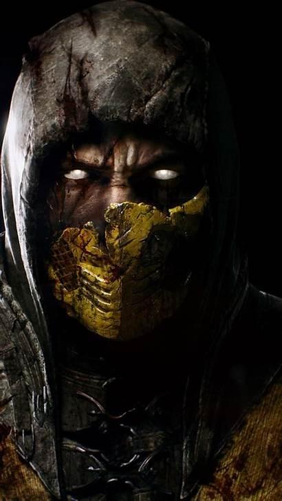 Scorpion Iphone Marvel Wiki Mortal Kombat Wallpapers