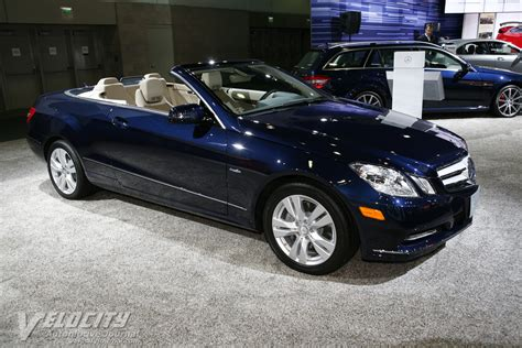 The body styles of the range are: 2012 Mercedes-Benz E-Class Convertible