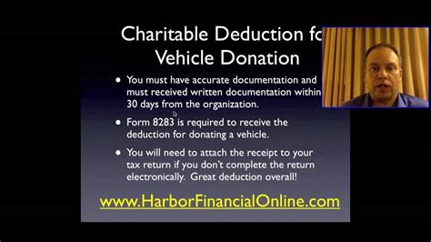 donate a vehicle to charity tax deduction 2012 2013 - Give Car To Charity Tax Deduction
