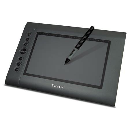 Turcom Graphic Tablet Drawing Tablets and Pen/Stylus for