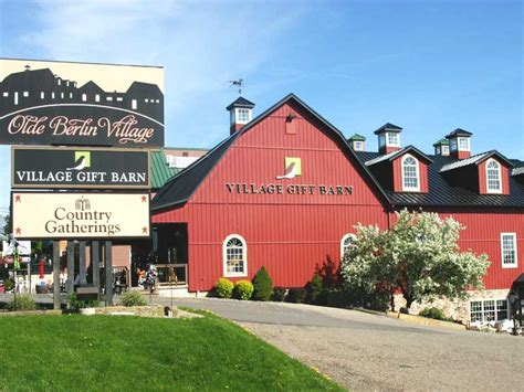 berlin village gift barn ohio amish country