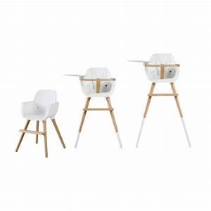 Chaise Haute Bébé Design : coussin chaise haute ovo blanc blanc micuna design b b ~ Teatrodelosmanantiales.com Idées de Décoration