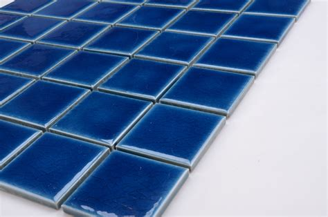 Glow In The Mosaic Pool Tiles by Glow Blue Premium Mosaics Tile For Swimming Pool
