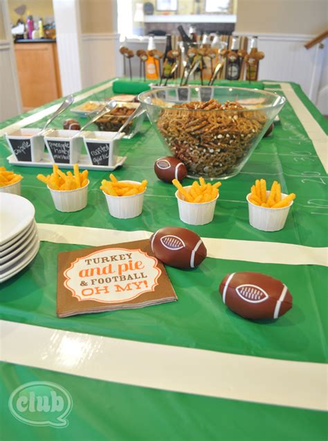 inspiring football party decorations  football party