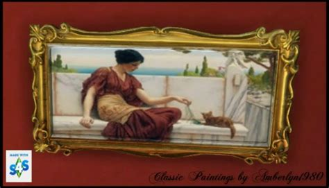 amberlyn designs sims classic paintings collection