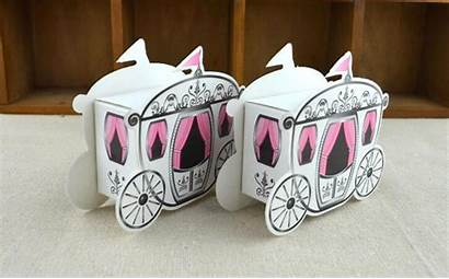Party Mini Favor Boxes Carriage Box Candy