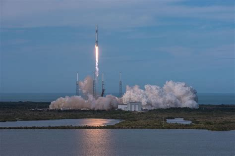 SpaceX supply ship departed Cape Canaveral for ...