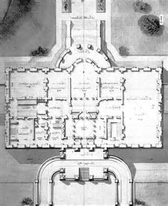 1860 White House Floor Plan
