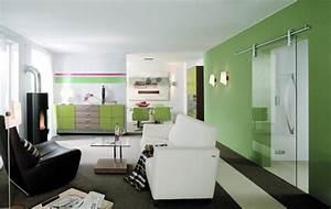Wohnen In Grün : wohnzimmer glas bach ~ Michelbontemps.com Haus und Dekorationen