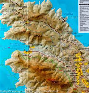 Sifnos Island Greece Map