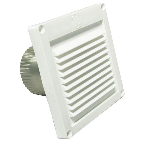 home depot vent fan speedi products 3 in micro louver eave vent in white ex