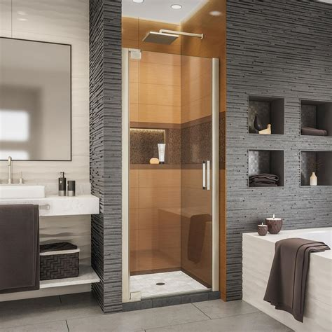 32 Inch Shower Door - dreamline flex 32 to 36 in x 72 in framed pivot shower