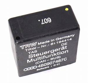 Relay 607  Audi A6 Allroad Steuergerat Multifunktion