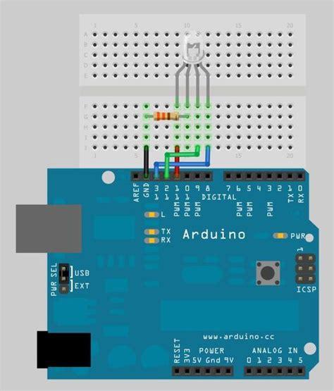 Arduino Examples Make Rgb Led Randomly Flash