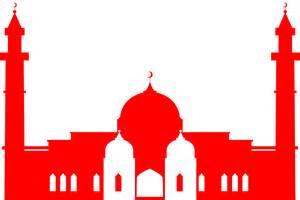 Islamic Mosque Silhouette