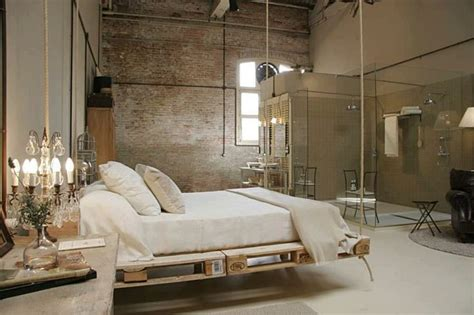 diy suspended bed bedroom rustic with timber ceiling wood beams antique wood suspended in style 40 rooms that showcase hanging beds