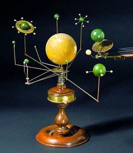 Photo: A set of models of the sun, earth and ... / LJWorld.com