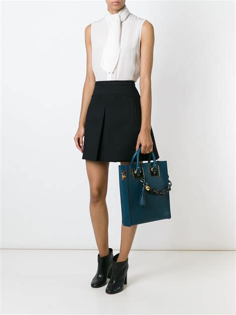 lyst sophie hulme albion tote  blue