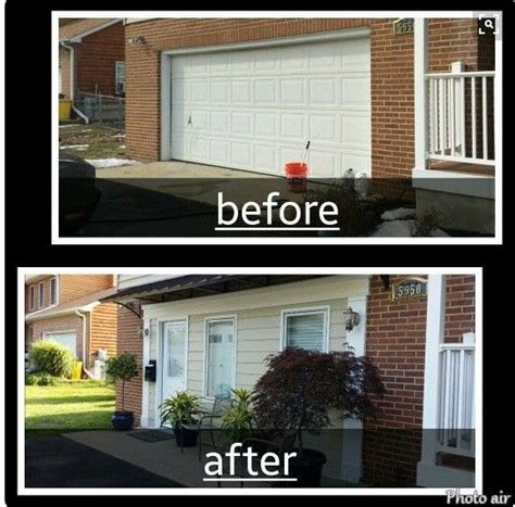 convert garrage door to windows exle of exterior i don t like for the home in 2019 デザイン