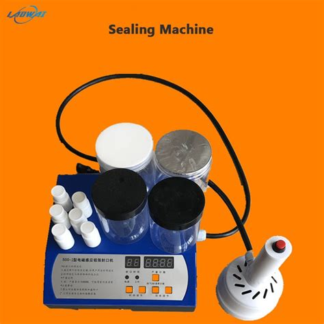 electric gasket glass sealing machine vacuum sealer plastic bottle sealing machine capping