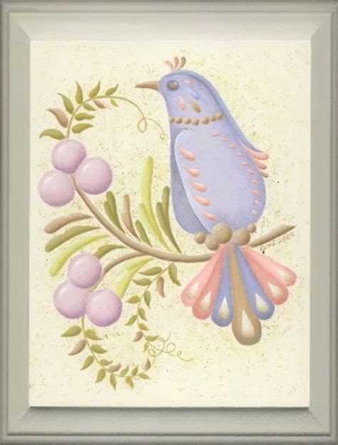 free tole painting patterns pastel partridge