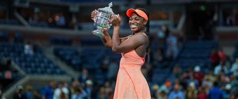 us open ch sloane stephens shocked about remarkable win abc news