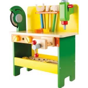 Wooden Tool Bench Toy by Etabli En Bois Avec Outils Bricolage Enfants Jeux Jouets