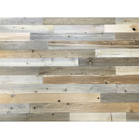 reclaimed wood paneling timberchic 3 quot reclaimed wood wall paneling in 1746