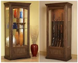 Free Hidden Gun Cabinet Plans PDF Woodworking