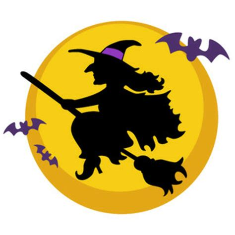 high quality witch clipart moon transparent png
