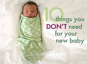 Ten things you DON'T need to buy for your new baby ...