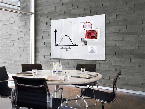 tableau de bureau tableau blanc magnétique en verre effaçable et aimanté