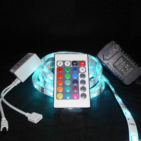 Led Lichtbänder Indirekte Beleuchtung led lichtband 3 meter 5050 rgb 24 tasten fernbedienung
