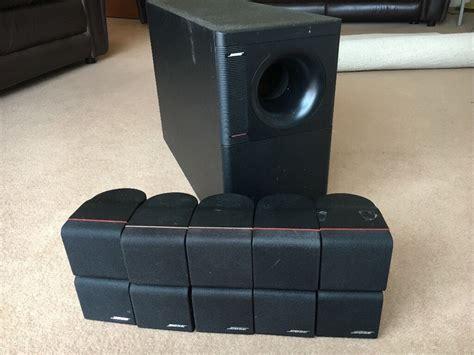 bose surround speakers bose home cinema speaker system 5 1 surround sound