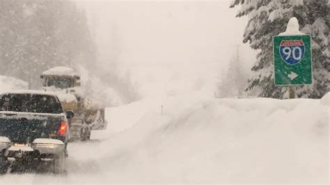 Snoqualmie Pass Passes Last Year's Entire Snow Total By