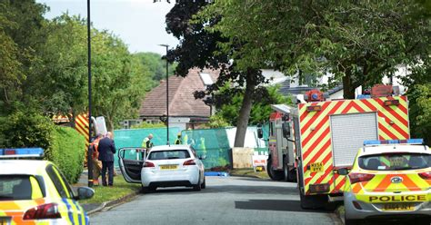 Garage Marl by Killed After Garage Collapses At House In Hale Barns