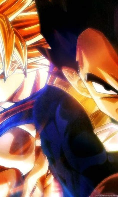 dragon ball goku vegeta  full hd