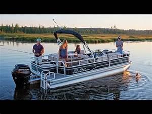 SUN TRACKER Boats: 2017 FISHIN' BARGE 20 DLX Fishing ...