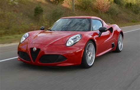Review 2017 Alfa Romeo 4c Coupe Gtspirit