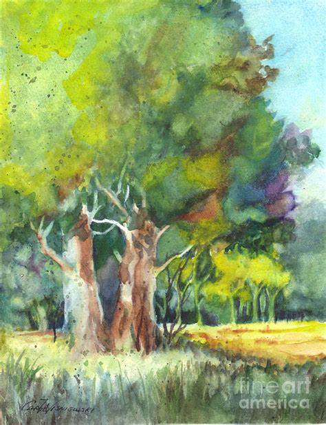 sterling forest trees sterling forest painting by carol wisniewski