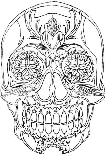 sugar skull  xrecklessx  deviantart