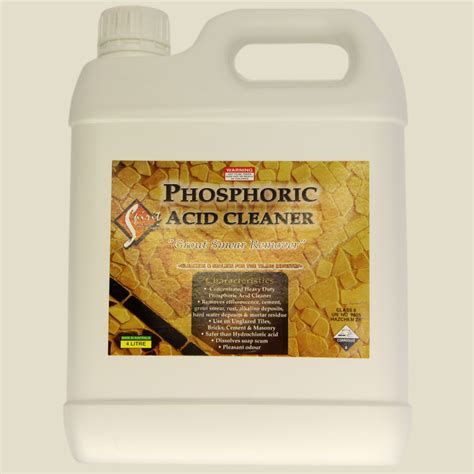 spirit marble tile care phosphoric acid cleaner 4