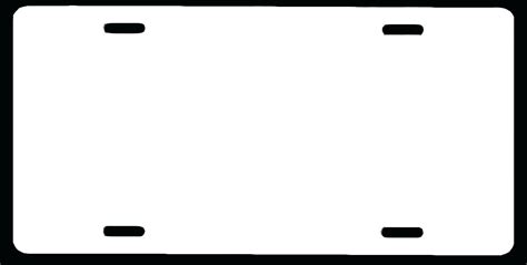 License Plate Template License Plate Template Choice Image Template Design Ideas