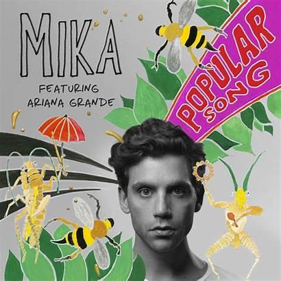Song Popular Ariana Mika Grande Ft Copertina