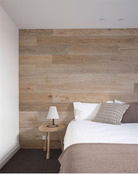 bardage bois chambre décorer un mur avec un habillage en bois